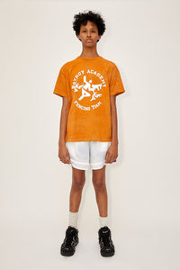 Heather Fencing Tee (Orange)