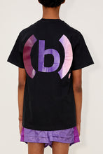 Load image into Gallery viewer, Gradient Fencing Tee (Black/Purple/Pink)