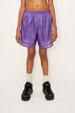 Air Force Layered Shorts (Purple)
