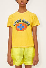 Load image into Gallery viewer, Bstroy x Blackfist Reversible Life's Hard Tee (Yellow)