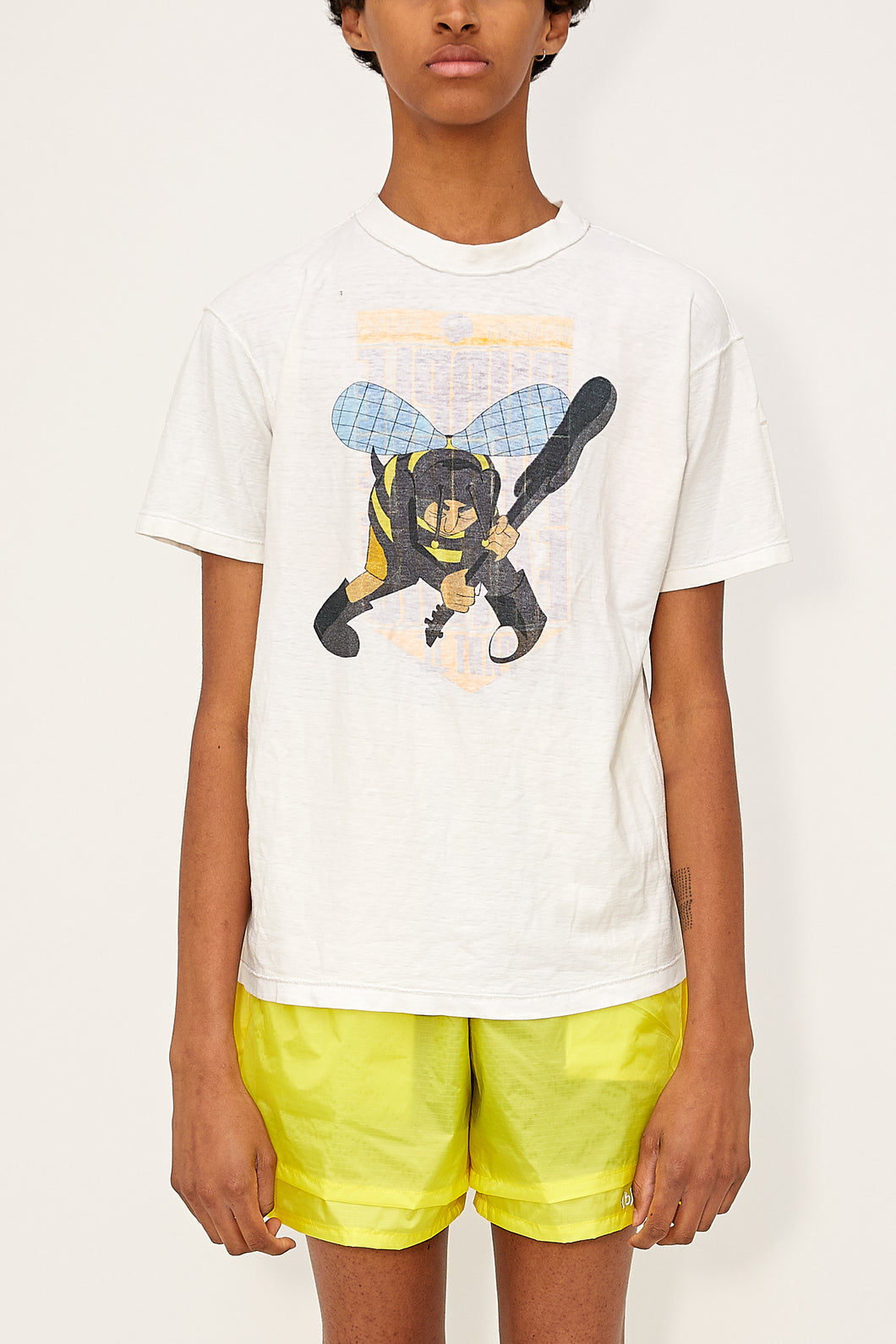 Bstroy x Blackfist Reversible Angry Bee Tee (White)