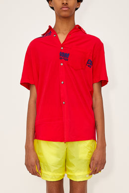 Bstroy x HommeBoy Reconstructed Button Up (Red)