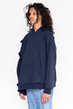 Load image into Gallery viewer, Double Head Hoody (Navy)