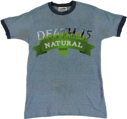 Death Is Natural Ringer Tee