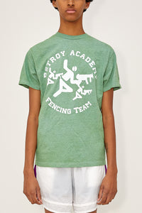 Heather Fencing Tee (Green)