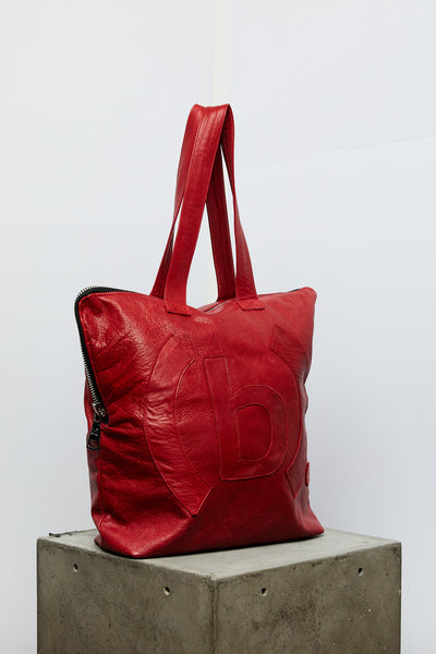 Leather Utility Tote