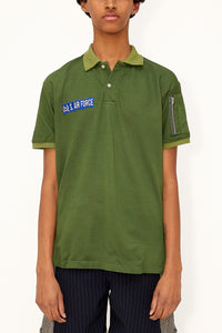 Air Force Polo (Olive)