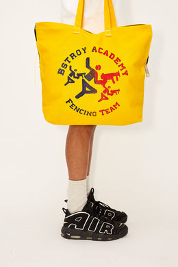 Fencing Tote Bag (Yellow)