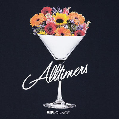 Alltimers Bouquet Tee (Navy)