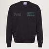 NYC Athletics Crewneck (Washed Black) PRESALE