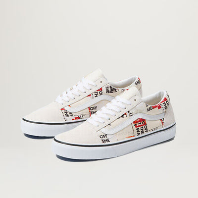 Vans Old Skool (Packing Tape) Blanc De Blanc/True White