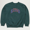 Born X Raised Major League Crewneck (Green)