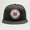 Born X Raised Locals Only Mesh Trucker Hat (Black)