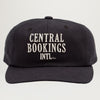 Central Bookings Intl. Court House Logo Unstructured 6 Panel Hat (Asst. Colors)