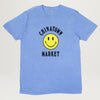 Chinatown Market Smiley Logo Color Change Tee (Blue)