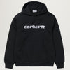 Carhartt WIP Hooded Sweatshirt (Black)