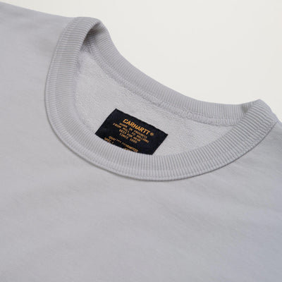 Carhartt WIP Military Mesh pocket Crewneck (Pebble)