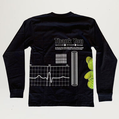 CTM Teddy Bear L/S Tee (Black)