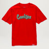 Cookies SF Paper Original Mint Tee (Red)