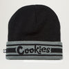 Cookies SF ERRY'BODY EATS Jacquared Knit Script Logo Beanie (Assorted Color)