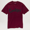 Cookies SF Original Mint Tee (Burgundy/Black)