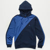Cookies Sierra Horizontal Pieced Fleece Hoody (Navy)