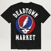 Chinatown Market X Grateful Dead Deadtown Tee (Black)