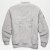 Cookies SF X Dipset Embossed Logo Velour Jacket (Grey)