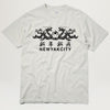 NYC Double Dragon Tee (Cement) PRESALE