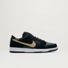 Nike SB Dunk Low Pro (Black/Metallic Gold-White)