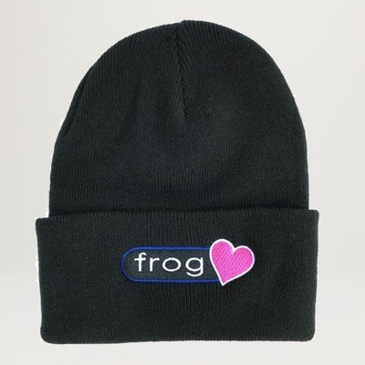 Frog Perfect Heart Beanie (Assorted Colors)