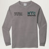 NYC Athletics Longsleeve Tee (Concrete) PRESALE