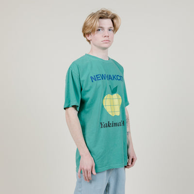 NYC Apple Capital S/S Heavyweight Tee (Sprite)