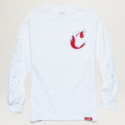 Cookies SF Icicle's L/S Tee (White)