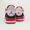 Air Jordan 3 Retro DS (White/Fire Red-Silver-Black)