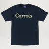 Carrots X Mark McNairy Duck Camo Wordmark Tee (Navy)
