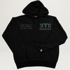 NYC Athletics Hoodie (Washed Black) PRESALE