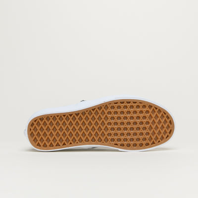 Vans Classic Slip-On (Leather/Black/Checkerboard)
