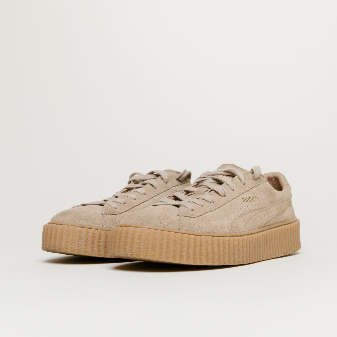 best service ace54 423f6 Puma x Fenty Suede Creepers Men (Oatmeal)
