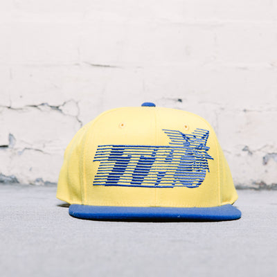 The Hundreds Blinds Snap (Yellow/Blue)