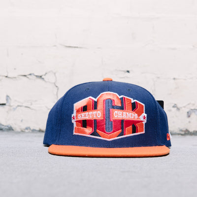 DGK Ghetto Champs Starter Snapback (Navy/Orange)