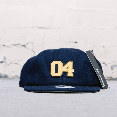 Fourstar 04 8 Panel Snapback (Black/Gold)