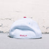 RVCA VA Sluggers Flex-Fit (Dark Red)