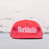Huf Worldwide Strapback (Red)