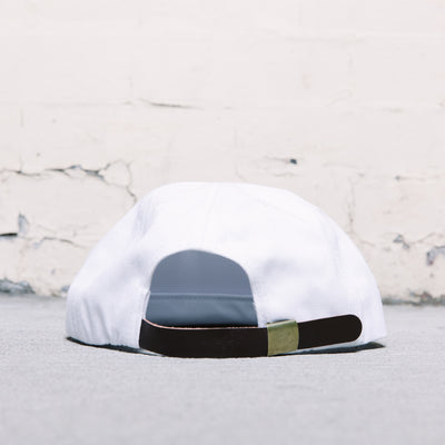 Paterson P Mingo 6 Panel Hat (White)