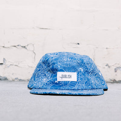 Publish Parker Floral Strapback (Blue)