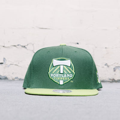 Mitchell & Ness Two Tone (Portland Timbers)