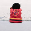 Mitchell & Ness Big Man Hi Five Pom Beanie (Heat)