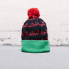 Blackscale Scale Of Black Beanie (Red)