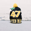 LRG Lifted 47 Beanie (Black/Yellow)